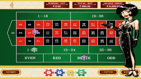 Roulette Fourtune Win HD