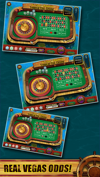 Roulette of Tropical Fish Casino 777 (Win Big)