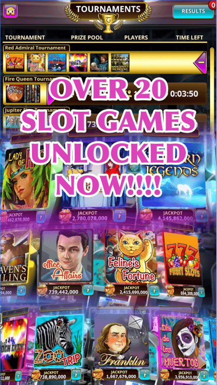 free slot apps